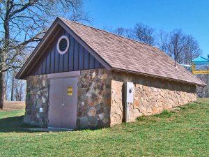 Riverside Park Sprayground Pump House - Lynchburg, Virginia