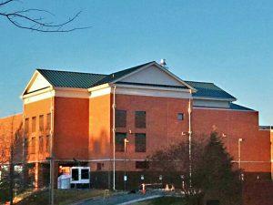 Roof Addition for HVAC Enclosure - Rustburg, Virginia